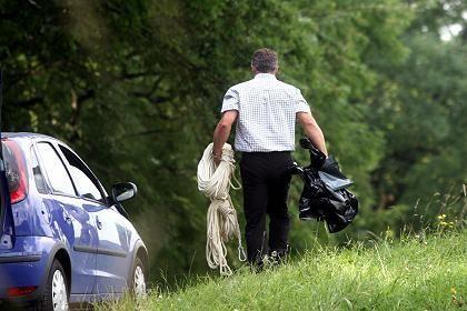 """Spurensicherung am Tatort: """"Tat ist an Grausamkeit nicht zu überbieten"""""""