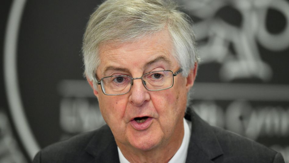 Mark Drakeford, Regierungschef von Wales: »Der Premierminister ist derjenige, der am meisten zum Auseinanderbrechen des Vereinigten Königreichs beiträgt«