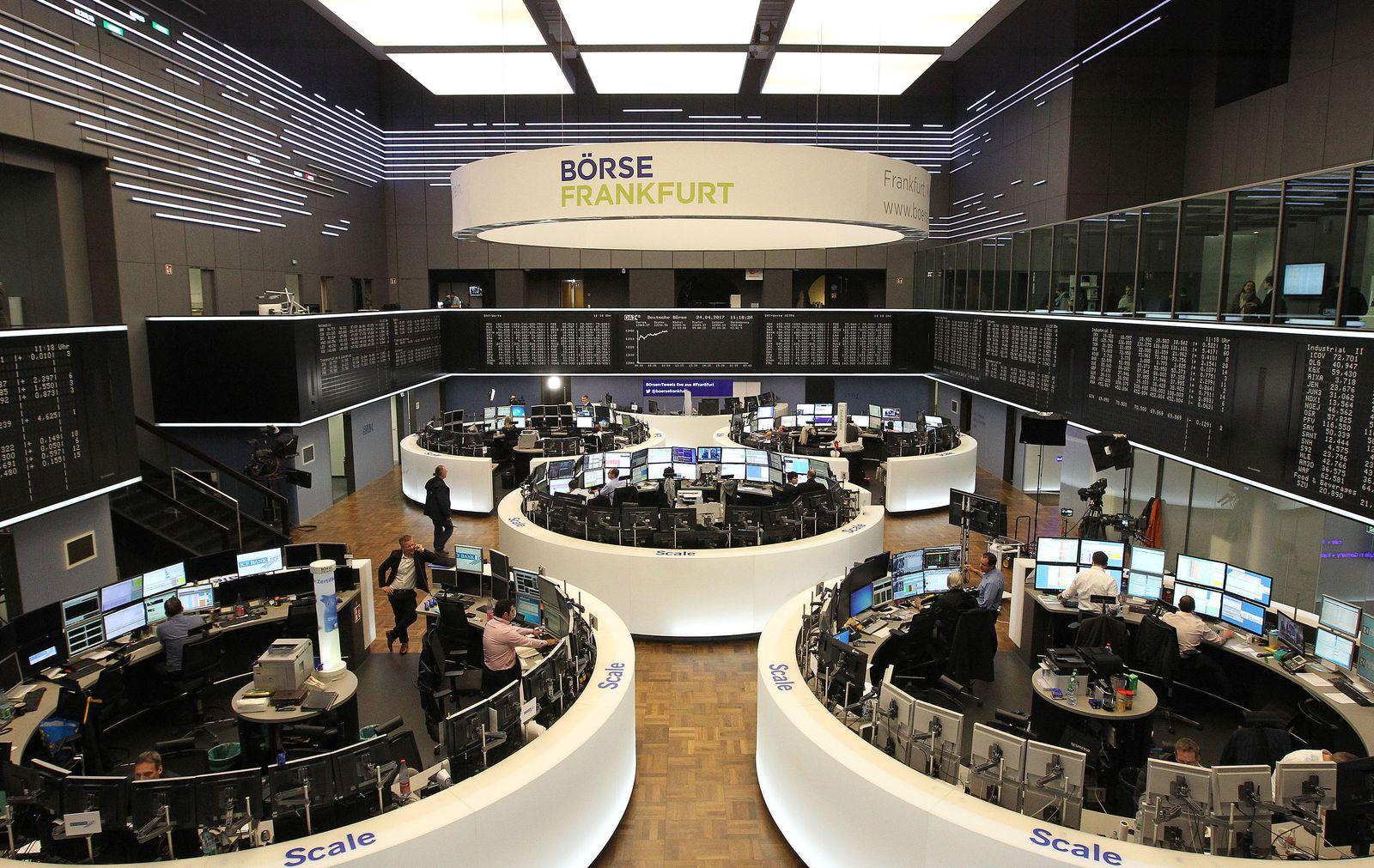 VIDEOTEASER_GERMANY-FRANCE-EUROPE-STOCKS Börse Frankfurt