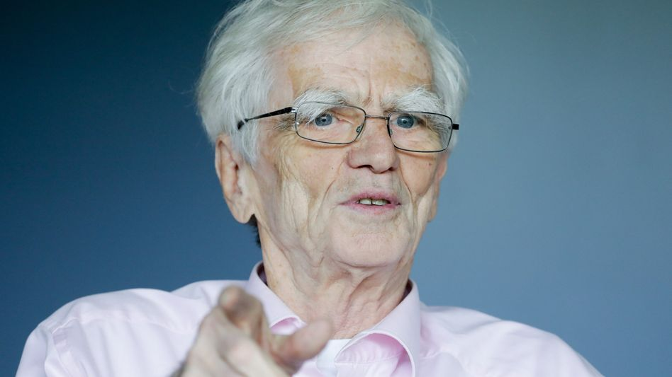 Der Grünenpolitiker Hans-Christian Ströbele