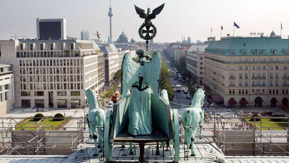 Berlin-Mitte: Deutsche Behörden und Ministerien im Visier der Briten