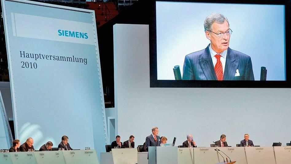Jahreshauptversammlung (bei Siemens)