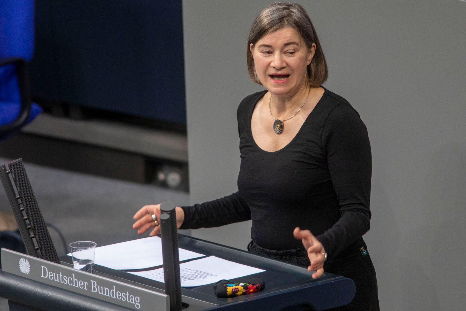 Deutschland, Berlin, Bundestag, 198. Sitzung, Anke Domscheit-Berg DIE LINKE., 09.12.2020 *** Germany, Berlin, Bundestag,