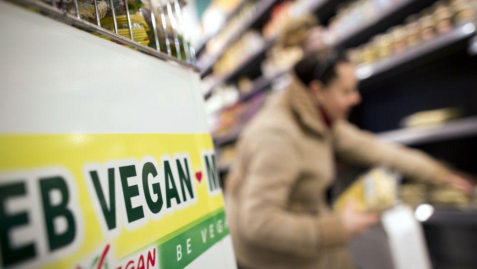 Veganer Supermarkt: Vegane Ernährung ist nicht nur eine Frage der Gesundheit