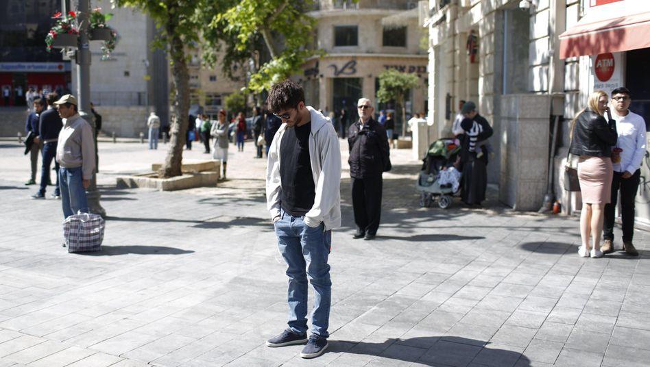 Gedenken in Jerusalem
