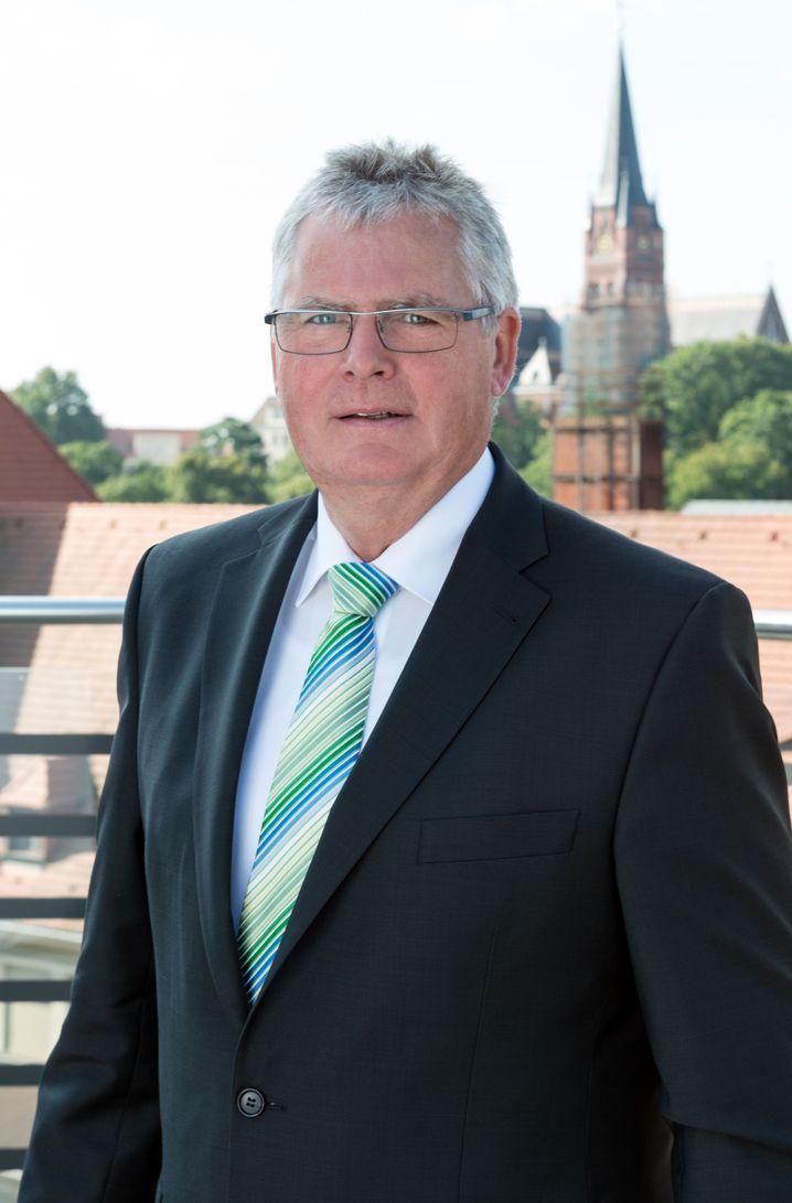 CDU-Landrat Bernd Lange