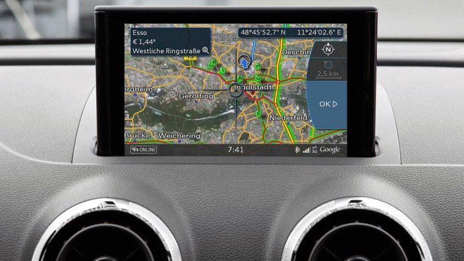 Google-Maps-Dienst bei Audi: Smarte Technik für das Auto