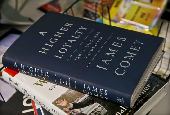 "US-Ausgabe des Comey-Buchs ""A Higher Loyalty: Truth, Lies and Leadership"""