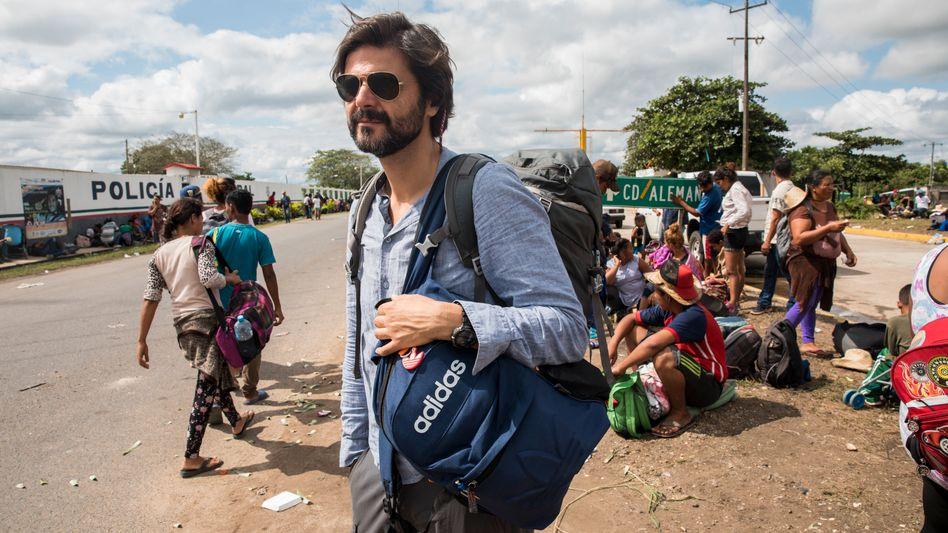 Reporter Moreno in Mexiko im November
