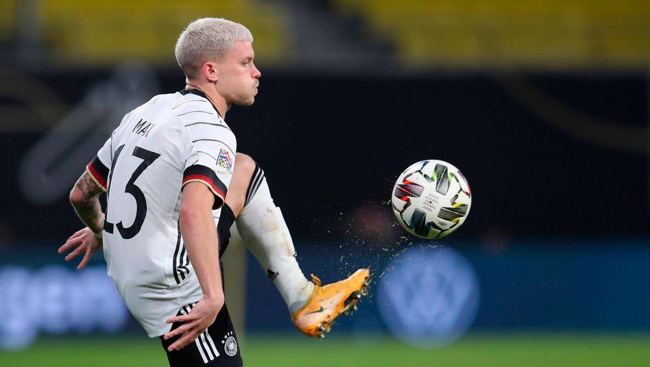Philipp Max wird gegen Spanien sein drittes Länderspiel bestreiten