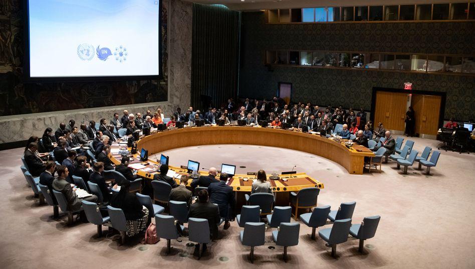 Uno-Sicherheitsrat in New York