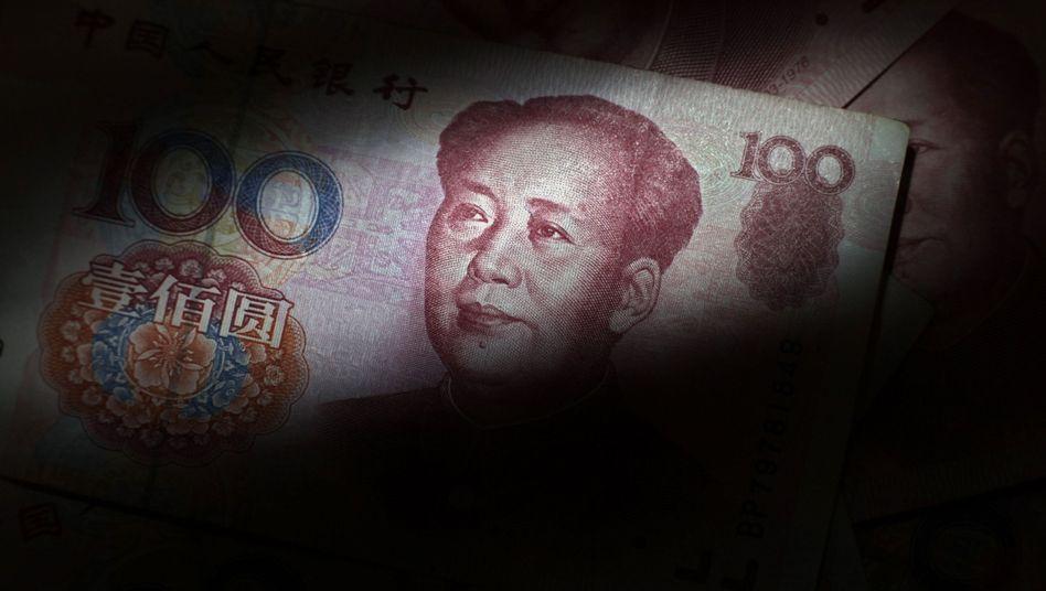 """Chinesische Banknote: """"Andere Mittel, um die US-Interessen zu schützen"""""""