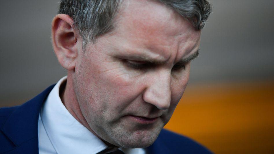 """Björn Höcke: Der Thüringer AfD-Landeschef gilt als wichtigster """"Flügel""""-Vertreter"""