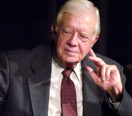 """""""Die einzige Alternative ist anhaltende und wachsende Gewalt"""": Jimmy Carter"""