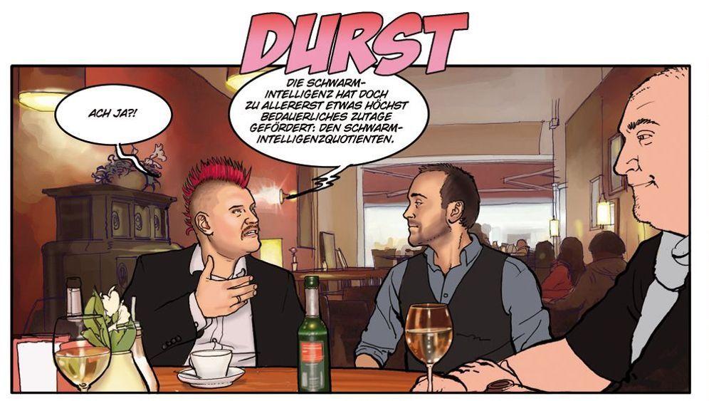 Jamiri-Comic: Diva-Abhilfe