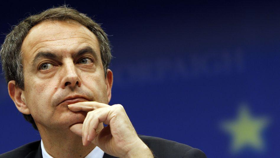 """José Luis Rodriguez Zapatero: """"Es gibt Indizien, dass sich unsere Wirtschaft erholt"""""""