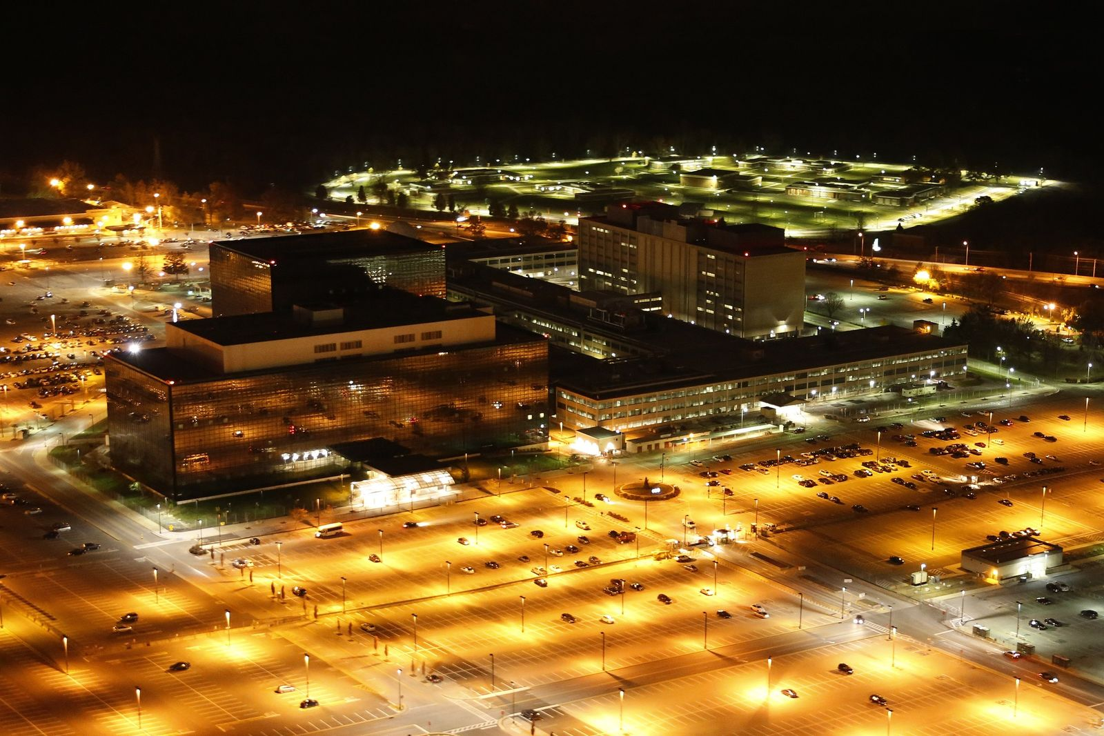 Zentrale der National Security Agency / NSA