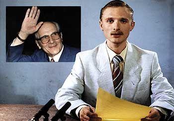 "Szene aus ""Good Bye, Lenin!"" (mit Florian Lukas):"