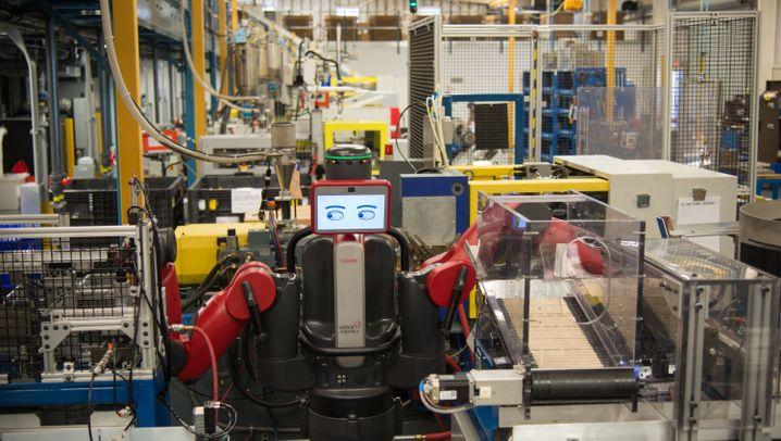 Fotostrecke: Die Maschinenarbeiter von Rethink Robotics