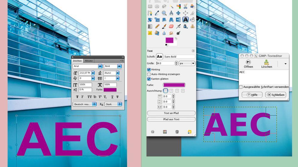Photoshop-GIMP Dictonary: Teil 2 Werkzeuge