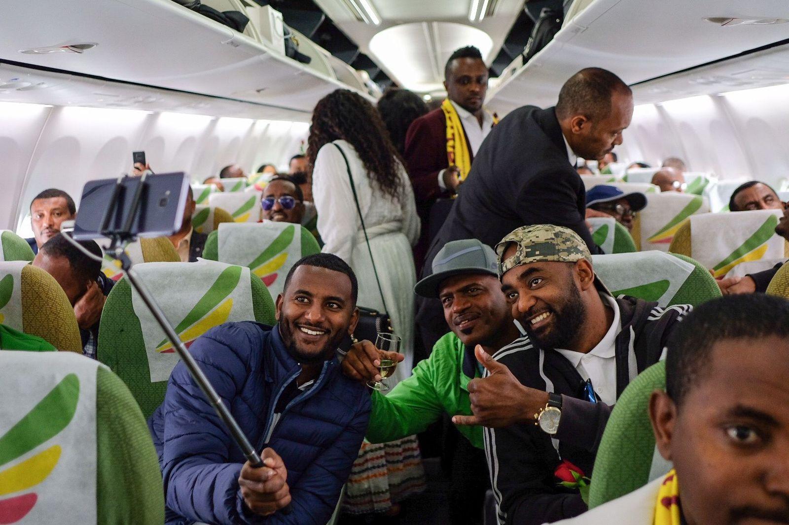 Äthiopien / Eritrea / flug