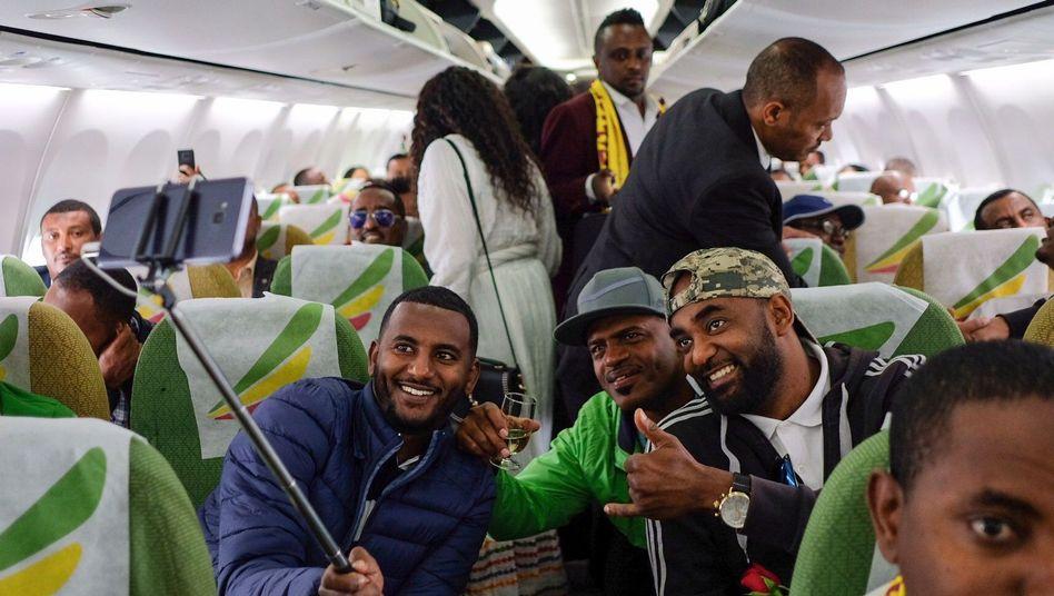Erste Flüge zwischen Addis Abeba und Asmara