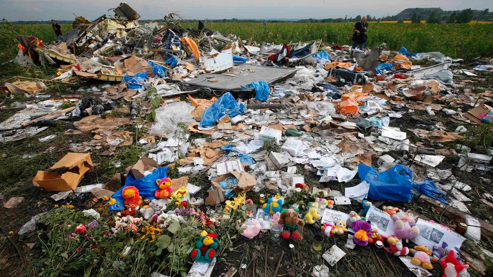 MH17-Abschuss: Die ungesicherte Absturzstelle