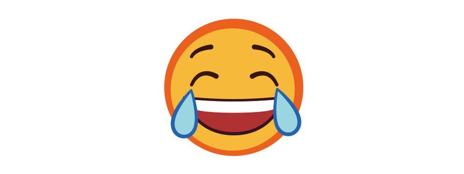 Emoji mit Lachtränen: Jedes fünfte Smiley-Bild in Großbritannien sieht so aus