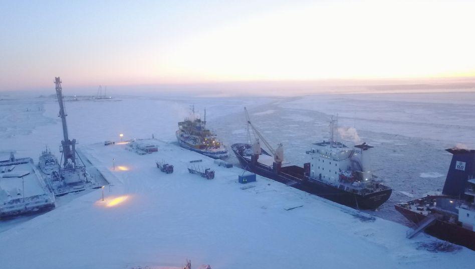 Im Bau: Arctic LNG 2 soll Russlands Flüssiggasproduktion um mehr als 50 Prozent steigern