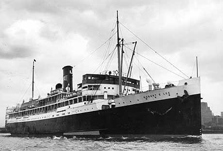 """Von """"U-166"""" versenkt: Die """"SS Robert E. Lee"""""""