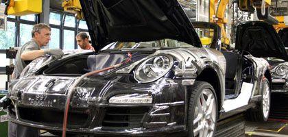 Porsche-Produktion: Unternehmenschef Wiedeking unter Druck