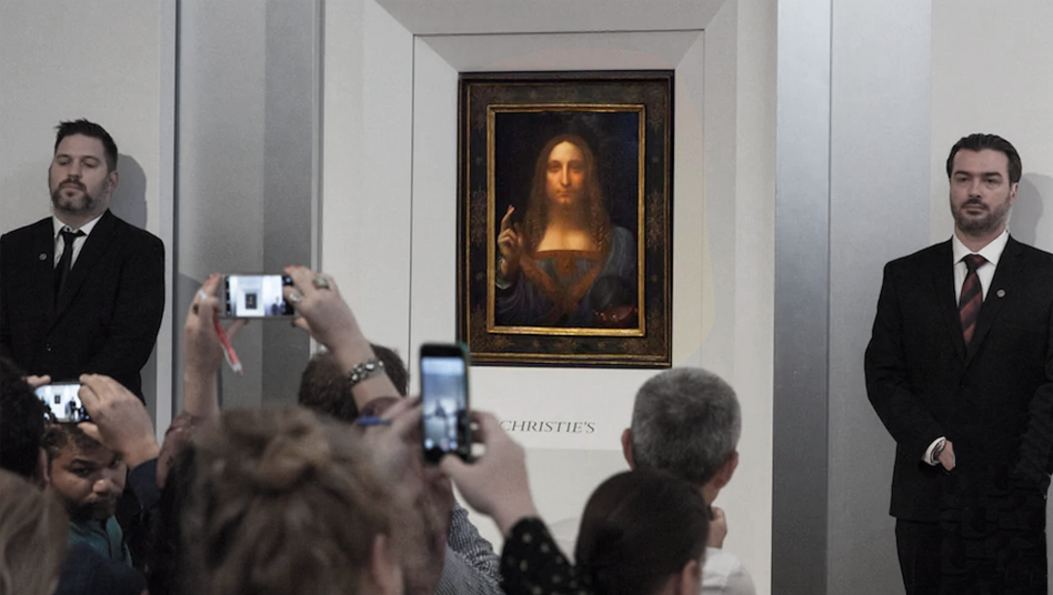 Auktion des »Salvator Mundi« 2017: 450 Millionen Dollar als Wette auf die Zukunft