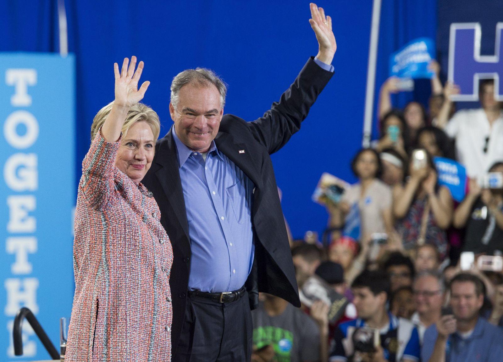 Hillary Clinton / Tim Kaine