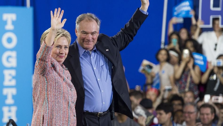 Clinton und Kaine