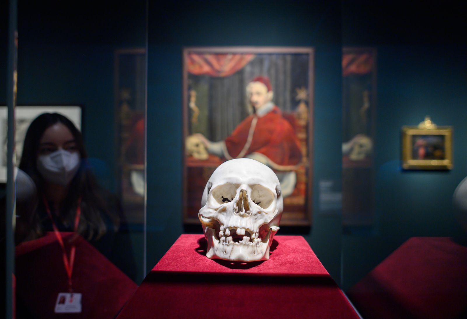 """Ausstellung der SKD """"Bernini, der Papst und der Tod"""""""