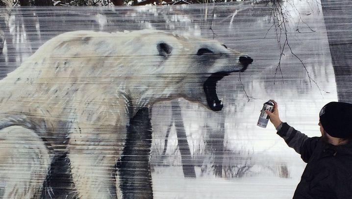Cellograffiti: Kunst auf Folie