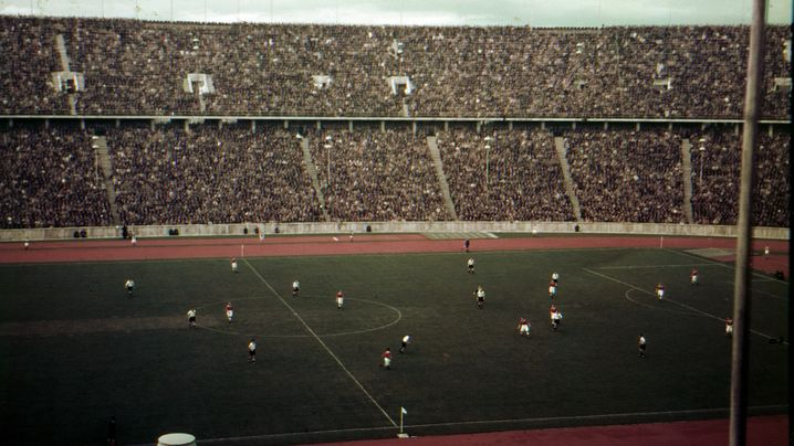 Buntes Länderspiel, anno 1937: Fußball in Agfacolor