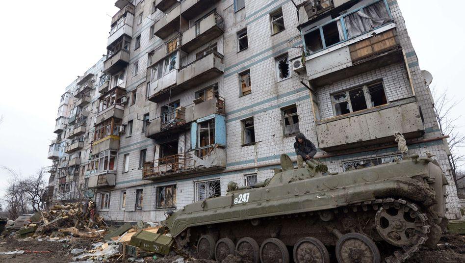 Separatisten in Donezk: Unterstützung aus Russland?