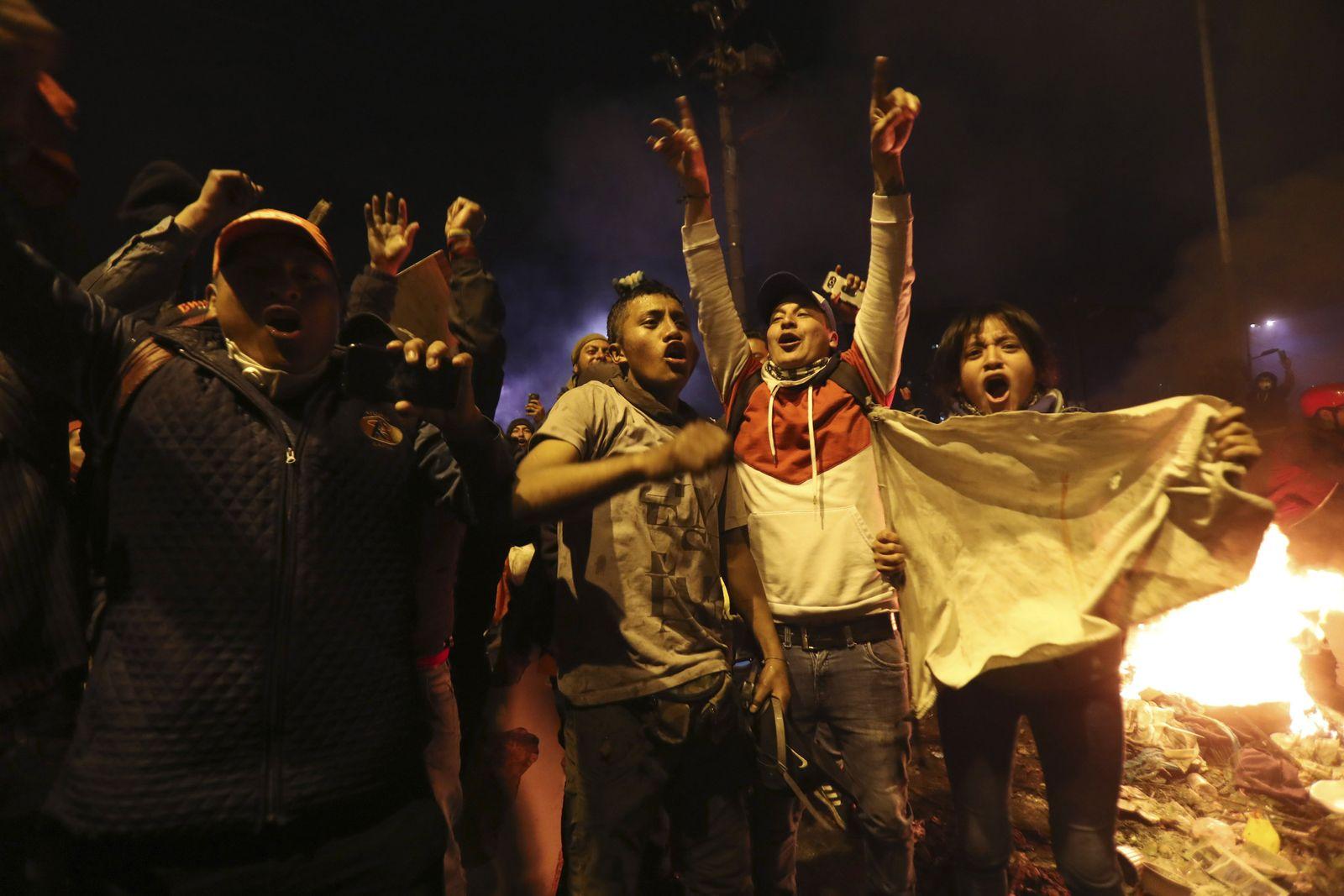 Ecuador Political Crisis