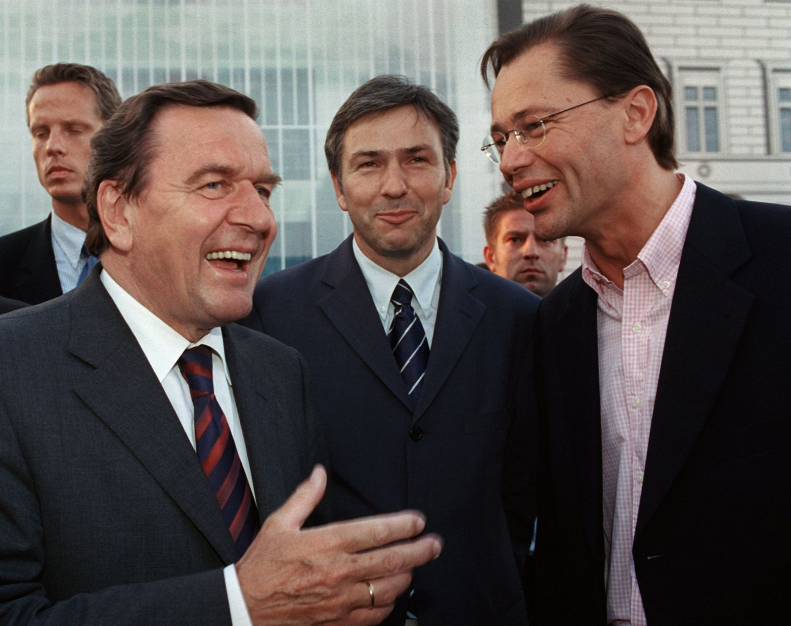 Middelhoff Prozess / Schröder