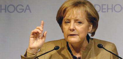 """Kanzlerin Merkel: """"Wenn alle ausfallen, muss man neue gründen"""""""