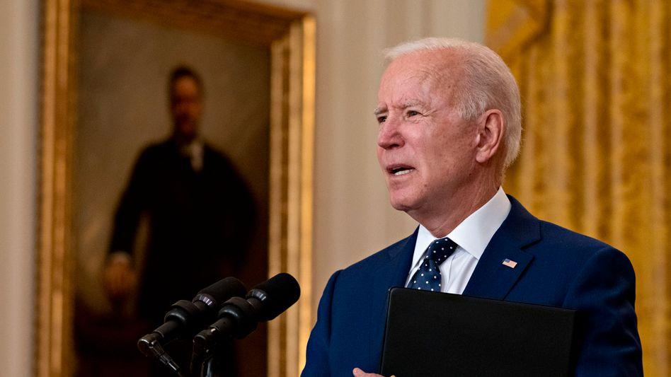 Er will einen »strategischen Stabilitätsdialog« mit Russland beginnen: US-Präsident Joe Biden