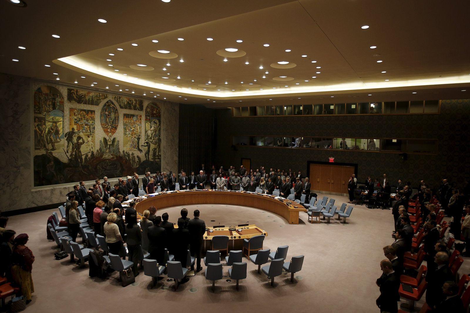 Frankreich. Uno-Sicherheitsrat, Resolutionsentwurf, resolution russland
