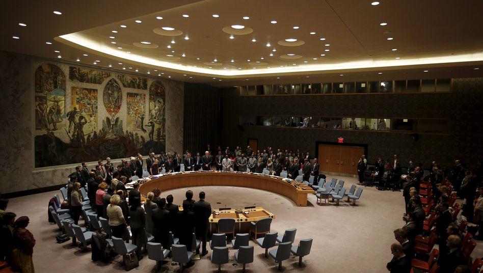 Uno-Sicherheitsrat (Archivbild)