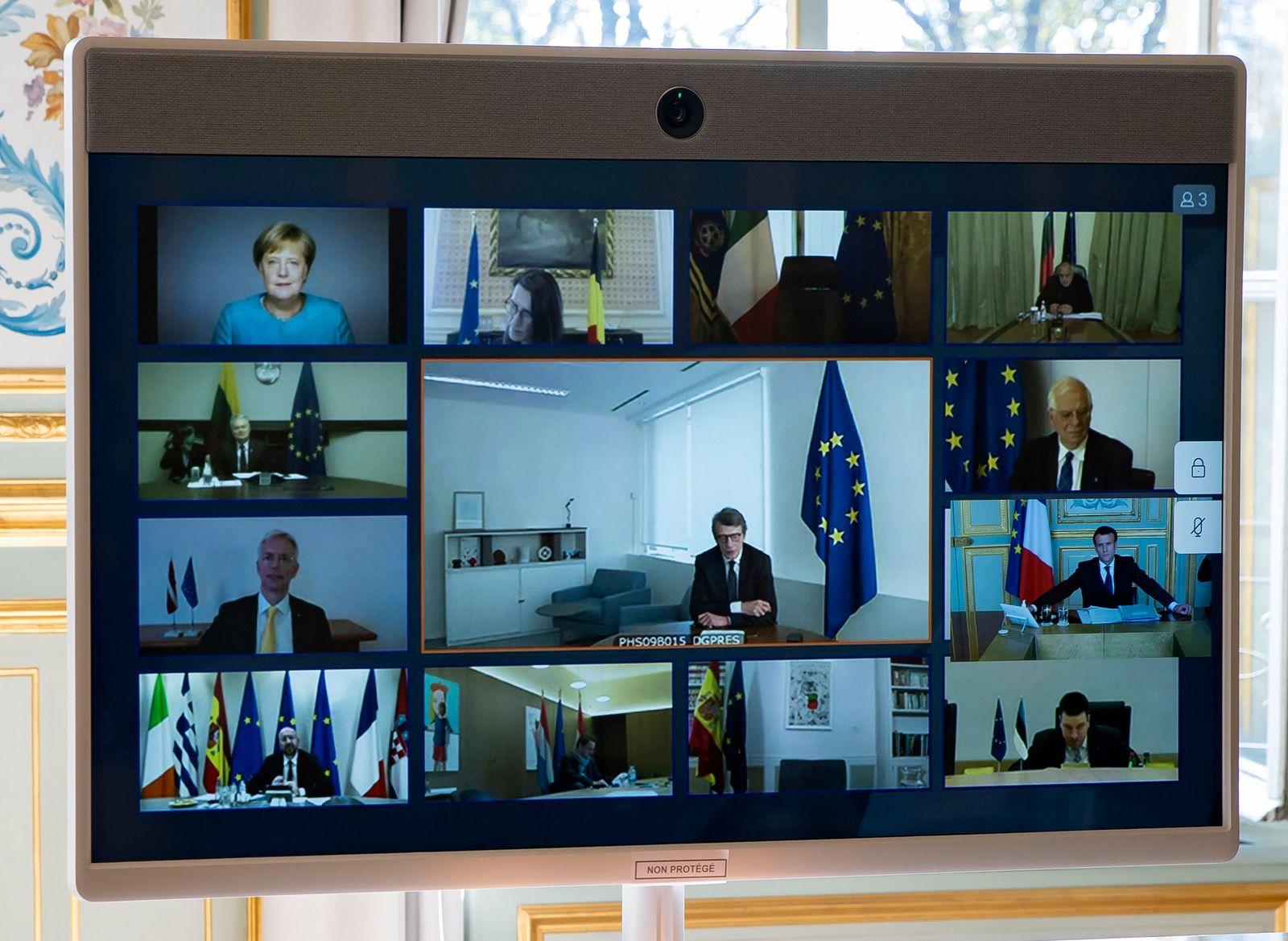 Coronavirus - EU-Videogipfel