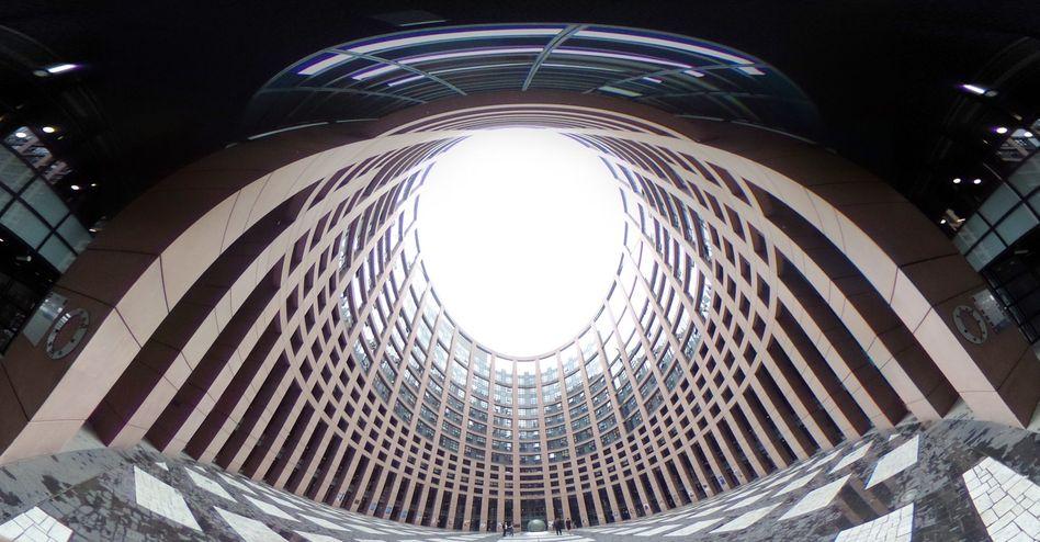 Louise-Weiss-Gebäude in Straßburg, Sitz des EU-Parlaments