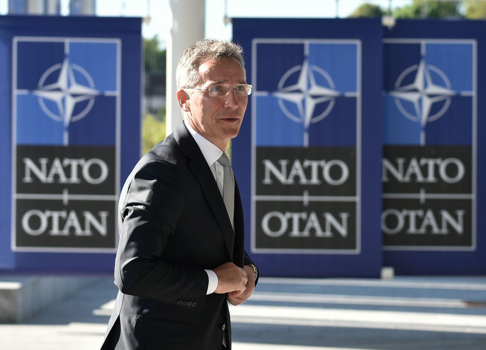 BELGIUM-NATO-STOLTENBERG