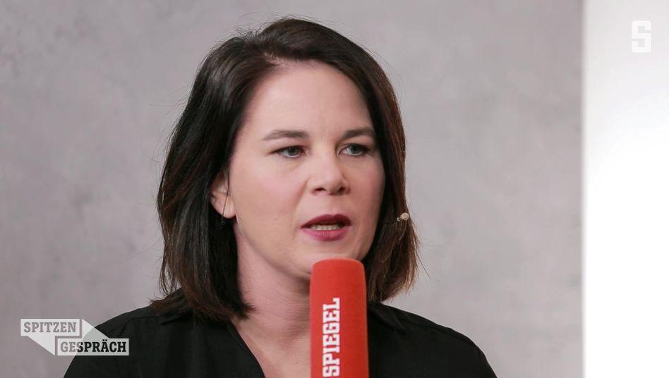 Grünenchefin Baerbock im SPIEGEL-Spitzengespräch: Familienpolitik als »das größte Versagen dieser Bundesregierung«