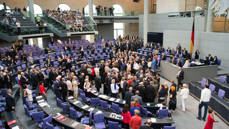 Bundestag am 17.Juli 2015: Grünes Licht für weitere Verhandlungen mit Athen