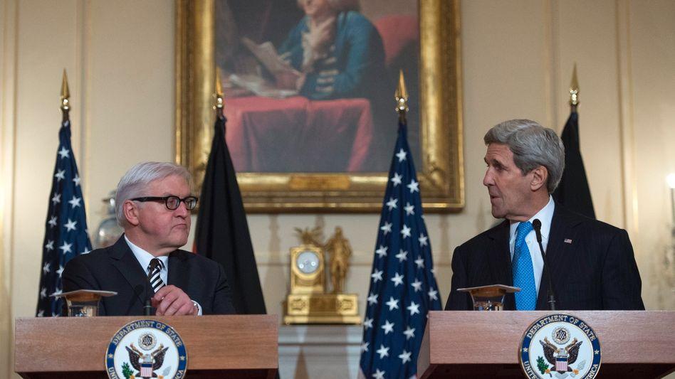 Außenminister in Washington: Steinmeiers Besuch bei den schwierigen Freunden
